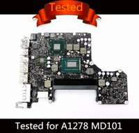 Wholesale apple laptop motherboards for sale - Group buy Tested Motherboard for Macbook Pro quot Laptop A1278 Logic Board i5 GHz i7 GHz Motherboard B MD101 MD102