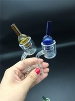 Wholesale pukinbeagle thermal p banger resale online - Set of XXL Quartz Thermal Banger Colored glass carb cap mm mm mm Double Tube Quartz Thermal Banger Nail PukinBeagle thermal P Bange