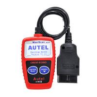 Wholesale obd scanner autel resale online - Autel MaxiScan MS309 CAN BUS OBD2 Code Reader EOBD OBD II Diagnostic Tool Autel MS309 Code Scanner PK OM121 MS300 KW806