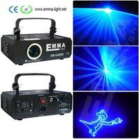 Wholesale Laser Blue Ttl - 2000mW Single color blue animation ttl modulation laser light show  DMX,ILDA laser disco light  stage laser projector