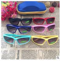 c0bcb5157b Alta calidad 2018 niños gafas de sol de marca bebé niñas Sunglass niños  gafas UV400 gafas Gafas de sol de color rosa claro