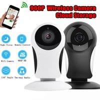 Wholesale security microphones - Home Security camera IP Wireless Smart WiFi camera 960P with microphone support Voice intercom