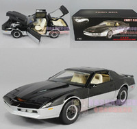 Wholesale hot wheels diecast - Hot Wheels Elite 1:18 KIKNIGHT RIDER KARR Metal Diecast Cars Collection Kids Toys Vehicle For Children Juguetes