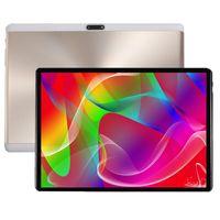 ingrosso ips 3g del pc del ridurre in pani-DHL free 2.5D Vetro temperato da 10 pollici Tablet PC 3G Octa core 1280 * 800 IPS 4GB RAM 64GB ROM Dual Cameras GPS Android 7.0 Tablet