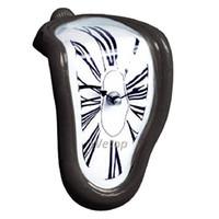 grandes presentes para o aniversário venda por atacado-Derretimento Distorted Relógio De Parede Surrealista Salvador Dali Estilo Relógio De Parede Incrível Decoração de Casa Presente 4 cores Frete Grátis
