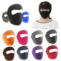 Wholesale dust free face masks for sale - Winter outdoor full face mask Windproof Motorcycle bicycle sports mask Warm Ski Masks Anti Dust Cold protection for women men DHL free
