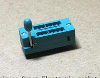 Wholesale ic test sockets resale online - 10PCS IC Test Universal ZIF Socket pin pin dip mm IC Socket pitch