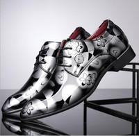 Wholesale korean man shoes style - Men Business leather shoe Size 37-48 Plus British High Quality Pointer Toe Rubber Korean Style Business PU Leather Fashion Men Shoes