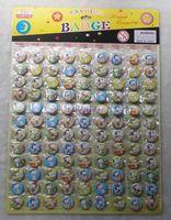 pin zurück abzeichen großhandel-Snoopy logo 2,5 cm pin abzeichen 108 stücke / 1 sätze neue cartoon anime pin zurück knöpfe neue party tasche geschenk party geschenke telefon zubehör