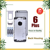 Wholesale iphone battery back housing for sale - Back Housing Battery Cover Coque for iPhone Plus with LOGO Buttons Sim Tray Custom IMEI Fundas Chassis Rear Door Middle Body Panel