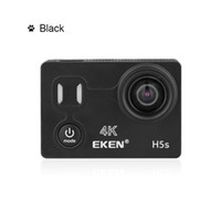 Wholesale wifi electronics for sale - Original EKEN H5S K FPS Ultra HD inch touch screen Action Sports Camera WIFI HDMI Wide Angle remote control sport camera