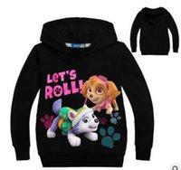 ingrosso hoodies dei costumi da ragazzi-newBaby Girls Vampirina Hoodies Costumi di capodanno Bambini Tops Vestiti Boy Maui Maglietta a maniche lunghe Felpa per bambini