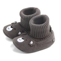 натуральная кожа нубук натуральная кожа оптовых-Walkers Baby New arrival winter Nubuck genuine leather tassels type infant baby winter shoes for girls #QJ