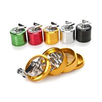 Wholesale herb spice hand grinder for sale - Group buy Smoking Dogo Spice Crusher Hand Muller Herb Grinder Dry Herb Grinders Tobacco Rotary Handle Grinders