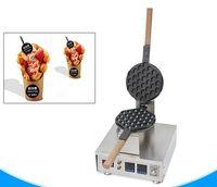 elektrische waffeleisen großhandel-Commecial digitaler Blasenwaffelhersteller elektrischer Hong Kong-Eiwaffelhersteller-Hauchwaffelmaschinen-Blasenei-Kuchenofen LLFA