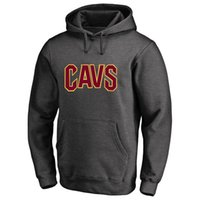 Wholesale 23 Sweatshirt - 17-18 CLEVELAND CAVALIER new logo Hoodies USA basketball 3 Isaiah Thomas 23 Lbron JAMES NAME AND Number SWEATSHIRTS