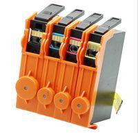 impresoras cartuchos de tinta al por mayor-4pcs / set para HP685 Deskjet 4615 4625 Cartucho de impresora Cartucho de tinta para impresora HP685BK 685C 685M 685Y Polvo de tóner