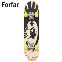 tablas de skate completos al por mayor-Monopatín completo Skate Board High Speed Extreme Sports Tablero de madera Monopatín de madera 3 Estilo