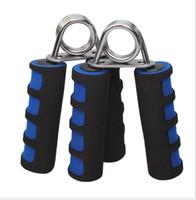 aperto de mão portátil venda por atacado-Portátil Espuma Gripper Mão-muscular Desenvolvedor de Equipamentos de ginástica de Fitness Um Tipo de Mão Apertos de punho Aperto de Treinamento de Força Por Atacado