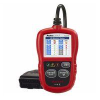 Wholesale auto car data online - Autel AutoLink AL319 Auto Diagnostic Tool DIY Code Reader OBD2 Code Scan Tool View Freeze Frame Data Diagnostic tool Car Scanner