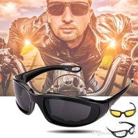 ingrosso yellow retro motorcycle helmet-Moda Ciclismo Occhiali Sport all'aria aperta Occhiali da moto MTB Occhiali antivento Moto auto Protect Occhiale Occhiali da sole Sport estremi 3 colori