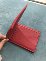 Wholesale Nice Bags For Girls - Popular 2018 Fashion Best Selling! Genuine Leather Women Short Wallet Purse Short Handbag 2 Colors For Girl Lady Nice Gift Money Bag