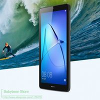 huawei tablet pc оптовых-2 шт. / лот протектор экрана пленка анти-отпечатков пальцев защитная пленка для HUAWEI MediaPad T3 7 wifi 7.0 ПК таблетки