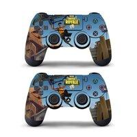 отличительные знаки контроллера xbox оптовых-Данные лягушка Fortnite наклейка для Sony PlayStation 4 PS4 игровой контроллер кожи наклейки наклейка винил Fortnite игры для PS4 Slim