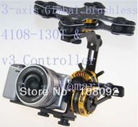 Wholesale camera gimbal motors resale online - Gimbal Brushless Kit Motor alexmos Controller for DSC RX100M5 RX100V Sony NEX ILDC camera