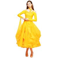 51e9c3911390f jaune concours de danse de salon robes frange robe de salon latin robes de  danse standard portent robe valse