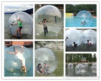 Wholesale inflatable walking zorb pvc ball online - Inflatable Water Walking Ball Water Rolling Ball Water Balloon Zorb Ball Inflatable Human Hamster Plastic Freeshipping Fede
