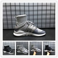 Wholesale Fashion Ankle Support - 2018 Fashion Men EQT IPMENT Support High Ankle Men Women Running Shoes Sock Primeknit Zebra sport basketball sneakers size 36-45