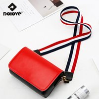 Wholesale hong kong wholesales - 2018 Summer New Tide Women Bag Hong Kong Wide Shoulder Strap Messenger Bag Harajuku Wind Simple Small Handbags