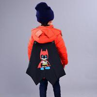 üç tatlı kız toptan satış-Tatlı güzel three-dimensionalcartoon görüntü tasarım erkek ceket aşağı 3 ~ 8 yaşında kalın rüzgar geçirmez sıcak kız pamuk ceket