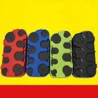 ingrosso autobus di plastica-Mini Euro Coin Dispenser Monete Collezione di monete creative Portafoglio per Bus Changer Holder Multi Color Portapacchi portatile Vendita calda 2 8bf Z