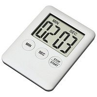 magnetic timer al por mayor-Ultrathin Kitchen Electronic Timer Dispositivo de Recordación Portátil con Estilo Moderno Cocina Magnética Alarma Cuisine Supplies 4 59wm ff