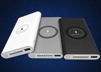 hochleistungs-power-bank-ladegeräte großhandel-Qi Wireless Power Bank Hohe Kapazität 10000 mAh Tragbares drahtloses Ladegerät Pad Externer Akku 2 in 1 mit doppeltem Ladeanschluss für iPhone X 8