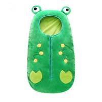 детское спальное меховое одеяло оптовых-Спальный мешок младенца спальные мешки детей держат теплое лоскутное одеяло для младенца a-0493