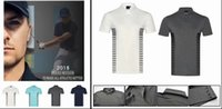 Wholesale u s t shirts - 2018 U golf T-shirt summer breathable dry fit soft golf short sleeve sports shirts 4 colors OEM available