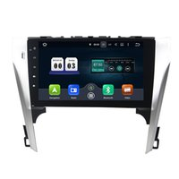 Wholesale toyota camry stereos - 10.1inch Octa-core Andriod 6.0 Car DVD player for Toyota Camry 2012 with 4GB RAM,GPS,Steering Wheel Control,Bluetooth,Radio