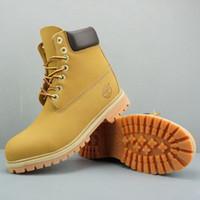 botas de tornozelo branco homens venda por atacado-2020 ankle boots homens Timberland mulheres grife de luxo do preto da forma de trigo branca da marinha dos homens de inicialização outddoor sapatos de corrida sapatos de caminhada martin