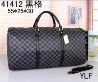 Wholesale nylon leather handbags - 2018 AAA NEW fashion men women travel bag duffle bag, brand designer luggage handbags large capacity sport bag 55CM L8888V
