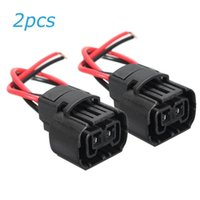 hot 5202 5201 2504 h16 9009 ps24w car fog lights bulbs female connector  wiring harness plug connectors terminals