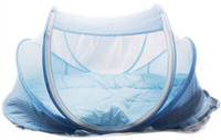 foldable baby mosquito nets NZ - Folding Baby Crib 0-3 Years Baby Bedding Mosquito Net Portable Foldable Bed Crib Mosquito Netting Cotton Sleep Travel Bed