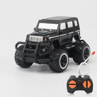 Wholesale control car model for sale - 1 Children Four Links Remote Control Car Mini Simulation Jeep Cars Model Portable Anti Fall Cross Country Toys ae W
