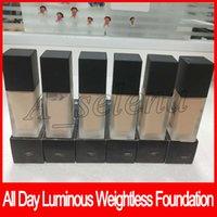 composição luminosa da fundação venda por atacado-Nova maquiagem todos os dias Luminous Weightless Foundation cosméticos 1FI. Oz. Corretivo da cara da base da composição de 30mL 6 cores