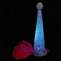produtos de cristal de chumbo venda por atacado-Nome do produto de metal e decoração do partido do evento do partido tipo de item decoração de casamento carrinho de flores, chumbo cristal de estrada
