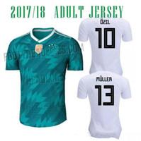 Wholesale camisetas futbol thai quality - Germany soccer jersey 2018 WORLD CUP National Team MULLER OZIL KROOS REUS thai quality jersey football shirt camisetas de futbol maillot