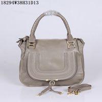 Wholesale satchel online - Women Leather shoulder bags soft calfskin leather cm Medium casual bags Light multi functional double leather handles Round shape