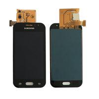 ingrosso digitalizzatore asso-100% di prova per Galaxy J1 Ace J110 SM-J110F J110H J110FM Display LCD Con Touch Screen Digitizer Assembly non può regolare